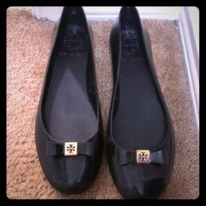 Tory Burch Jelly Flats w/ Bow